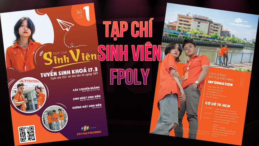 Tạp chí sinh viên Fpoly - Assignment Mul2111 - Chế bản điện tử indesign - @Thầy Hộ Zone